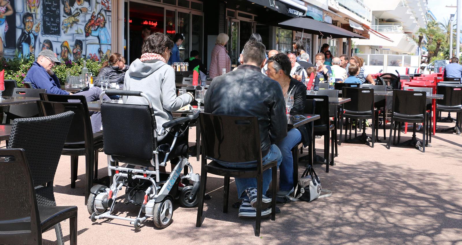 eloflex foldable power electric wheelchair portable compact